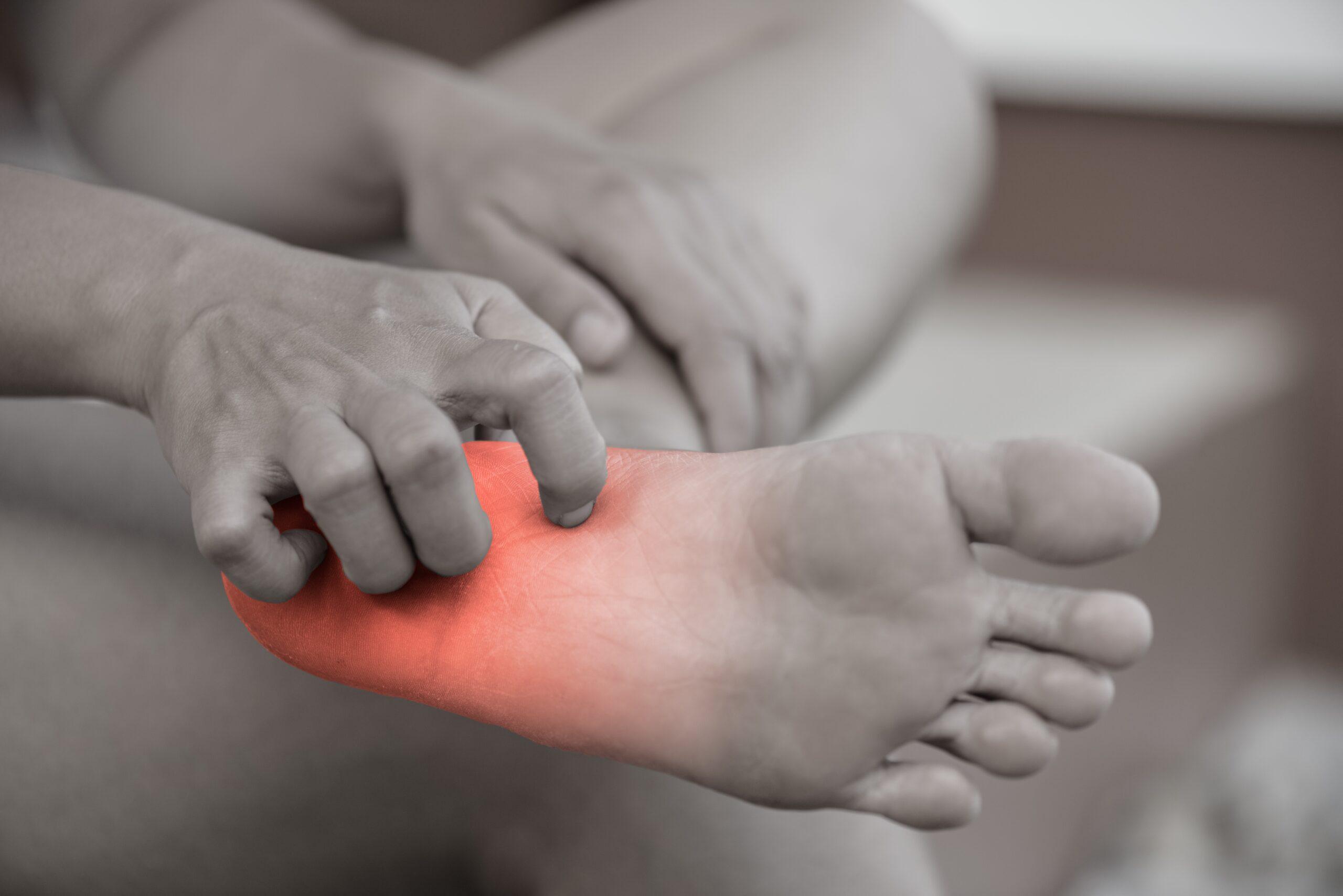 Pijn in de voeten is niet nodig, kom langs bij de podotherapeut